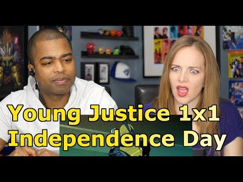 Young Justice 1x1 Independence Day (REACTION 🔥)