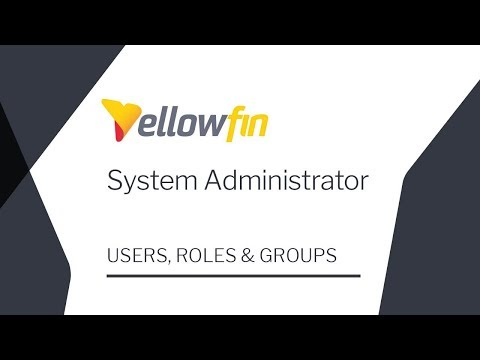 System Administrator | Users Roles & Groups