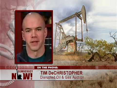 Utah Student Who Prevented Bush Admin Sell-Off of Public Land Charged for Disrupting Auction 4/2/09