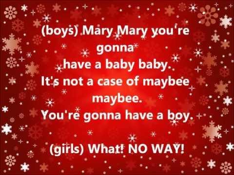 Scott Fellows -Christmas Mary Mary Song