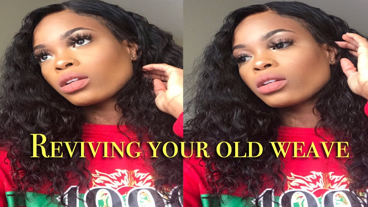 841f919380 How to  REVIVE YOUR OLD VIRGIN HAIR WEAVE WIG... - YouTube