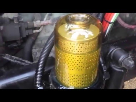 Diesel no start after fuel filter change.