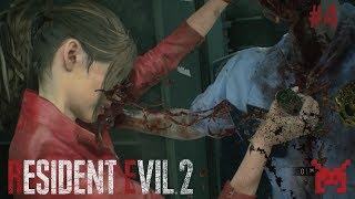 Let's Play Resident Evil 2 (PS4) Claire #4: Police Station West Wing