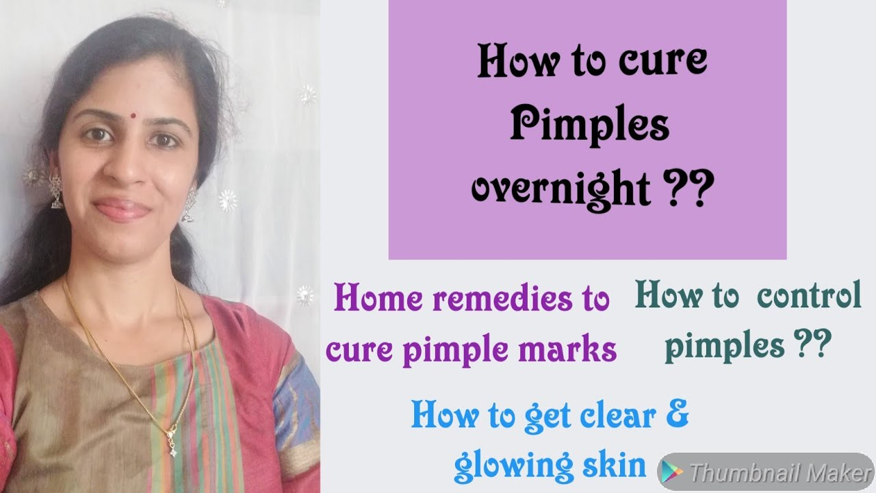 How To Cure Pimples Overnight Tamil How To Cure Pimples Marks From Face Pimples Home Remedies Youtube