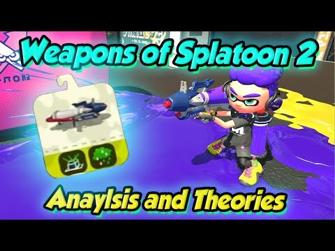 Splatoon 2 - Weapon Sets & what to expect! (DUDE's Thoughts & Analysis)