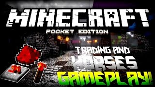 mcpe 0 13 0 update showcase redstone horses more   minecraft pocket edition concept video