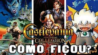 Castlevania Anniversary Collection - Como Ficou?