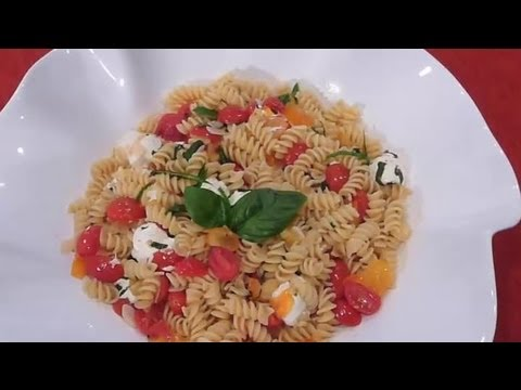 Pasta With Olive Oil, Garlic, Basil, Tomatoes & Mozzarella : Potato Salad Recipes & More