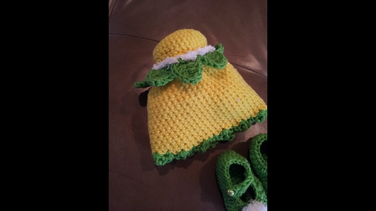Tutorial How To Crochet Tinkerbell Beanie Youtube