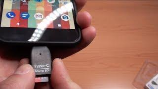 USB-C Micro SD Card Reader