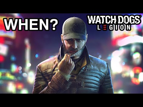 Watch Dogs Legion - Why Aren't Aiden Pearce & Wrench Available Yet? (Season Pass Bloodline DLC)