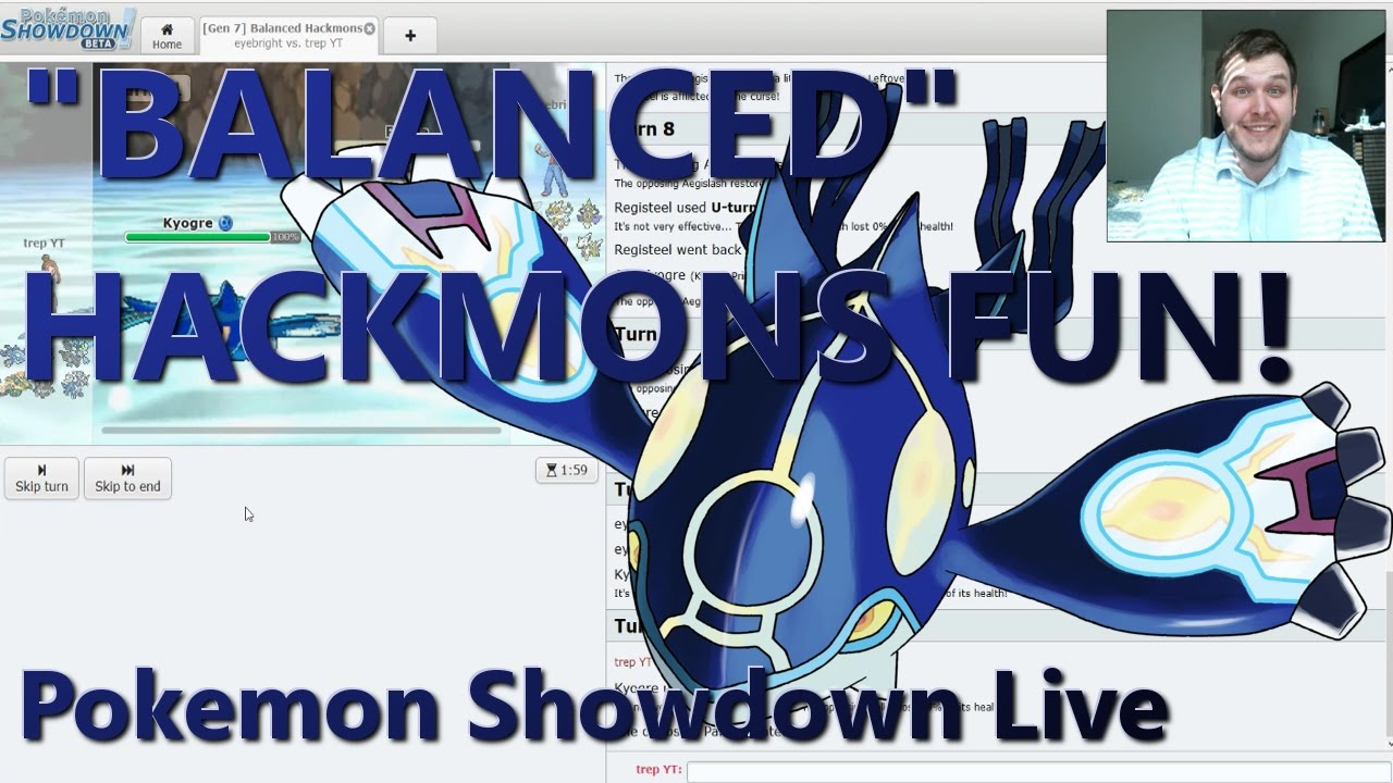 """BALANCED"" HACKMON FUN! (Pokemon Showdown Live) - YouTube"