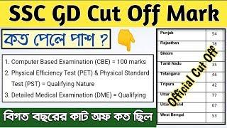 SSC GD Cut Off | SSC GD Constable Result | SSC GD Cut off 2019