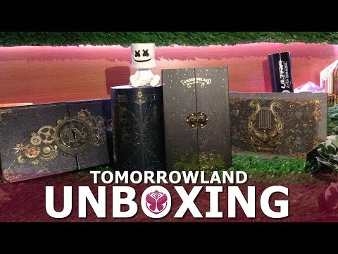 Tomorrowland 2013 until 2018? - Unboxing Bracelet (Pulseira) - TREASURE CASES