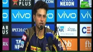 #IPL2018 : Kuldeep Yadav : Andre Russell Changed The Game For Us   Sports Tak