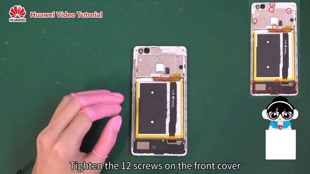 Huawei P9 Lite P 9 Lite Display LCD Reparatur Austausch