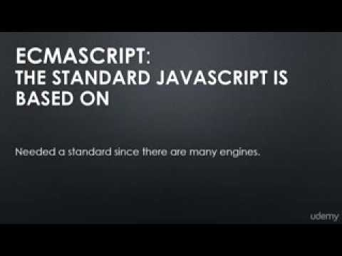02 JavaScript Aside JS Engines and The ECMAscript Specification