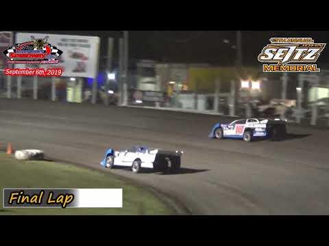 River Cities Speedway WISSOTA Late Model Heats (13th Annual John Seitz Memorial) (9/6/19)