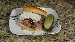 Pulled Pork Sandwiches in the NuWave Oven Pro Plus