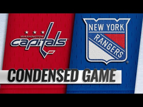 11/24/18 Condensed Game: Capitals @ Rangers