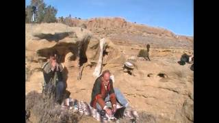 The Ether Ship in Chaco Canyon  Winter Solstice 2012 - Part 1