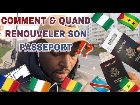 Comment \u0026 Quand Renouveler Son Passeport ⁉️