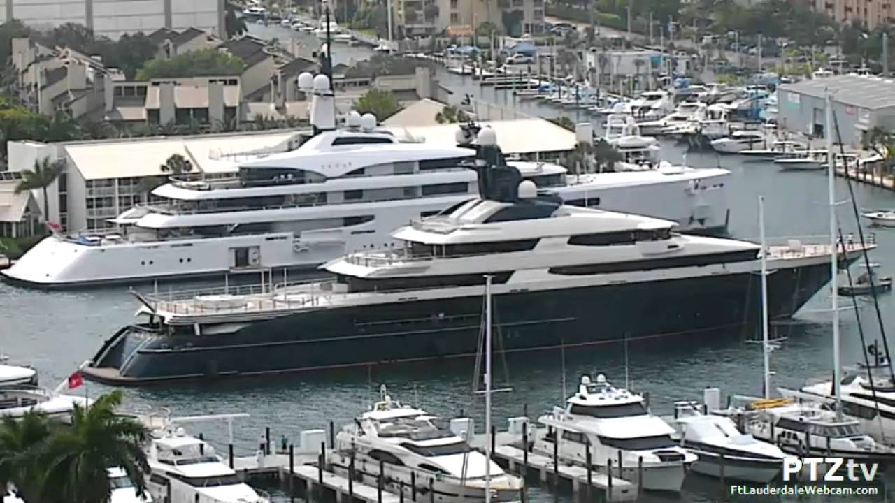 Superyacht EQUANIMITY Arrives In Fort Lauderdale 4 27 2015