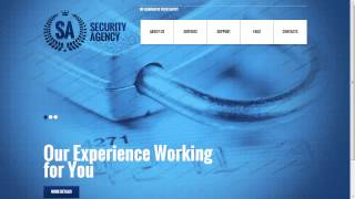 Security Agency Website Template