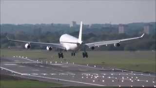 Runway 33 Arrivals at Birmingham Airport - Part 1 - 17/05/2014