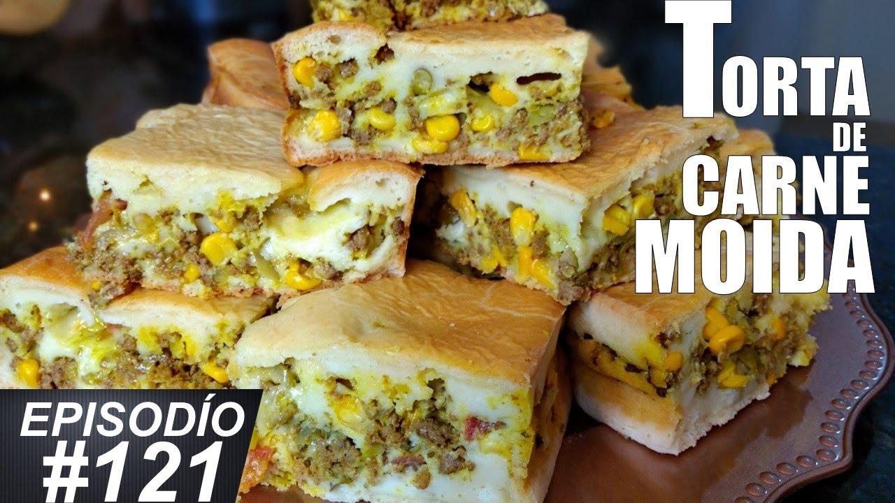 COMO FAZER TORTA DE CARNE MOÍDA
