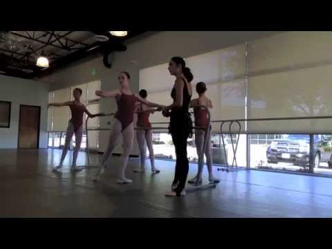 Jessica Lawrence-- Teaching Sample, Intermediate level ballet class.