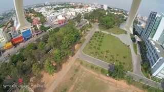 SYMA X8W XIAOMI YI CAM BICYCLE HELMET MOUNT (BANGGOOD)