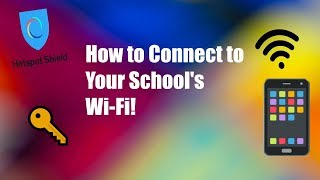 HOW TO CONNECT TO YOUR SCHOOLS WIFI!