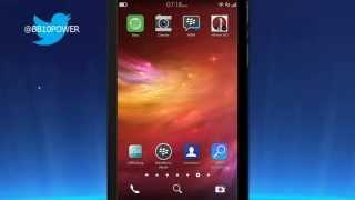 How to Customize Homescreen on BlackBerry 10 Iconos Transparentes