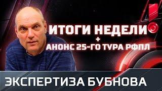 Бубнов - о ножницах Криштиану, дырах в обороне ЦСКА и 25-м туре РФПЛ