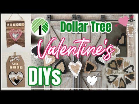 DIY Dollar Tree Valentines Decor | Easy Cheap Valentines DIYs | Momma From Scratch