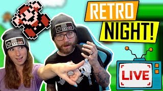 🔴 Retro Night! NES games with Darby & Morgan