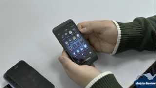обзор Blackberry Z10 - внешний вид