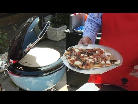 Meget Weber Pizza Oven Demonstration - YouTube CK31