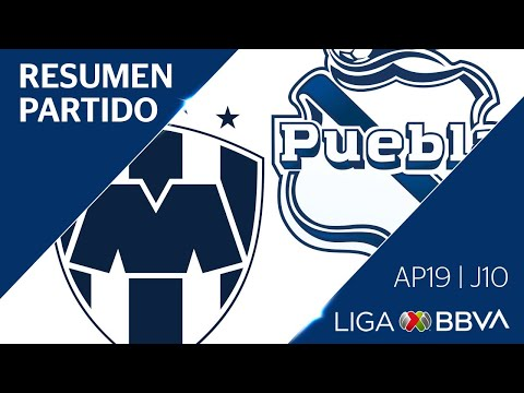Resumen y Goles   Monterrey vs Puebla   Jornada 10 - Apertura 2019    Liga BBVA MX