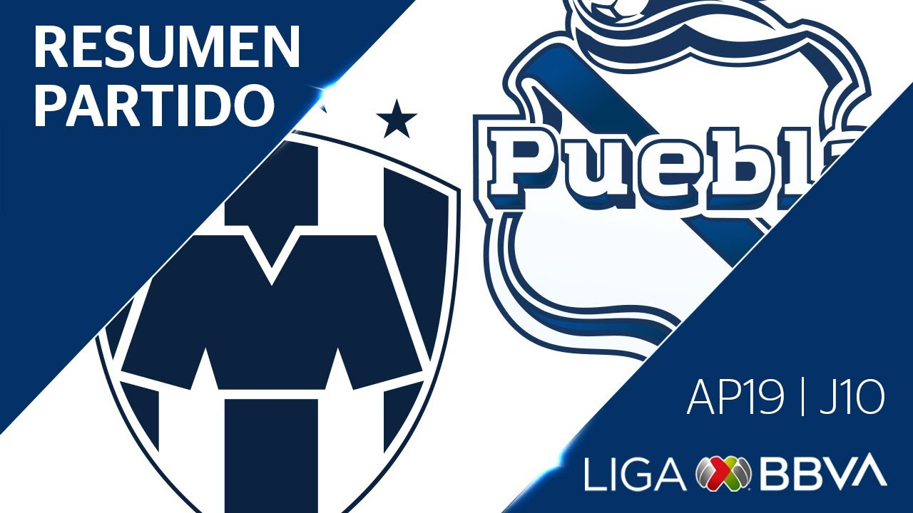 Resumen y Goles | Monterrey vs Puebla | Jornada 10 - Apertura 2019  | Liga BBVA MX
