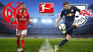 Video Gol Pertandingan Mainz FC vs RasenBallsport Leipzig