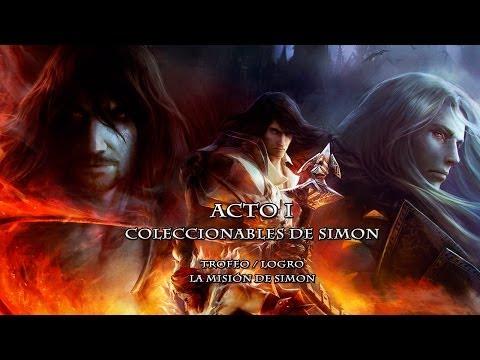 Castlevania Lords of Shadow: Mirror of Fate HD / Coleccionables de Simon - Acto I