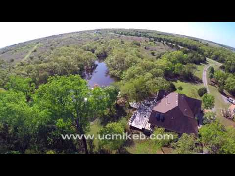 Oklahoma Luxury Country Retreat Home for Sale - United Country Mike Bendele Co