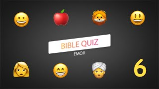The Bible EMOJI Quiz. Part 6 (MIRACLES OF JESUS 1)