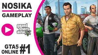GTA5 Online 1. rész - Karakter készítés