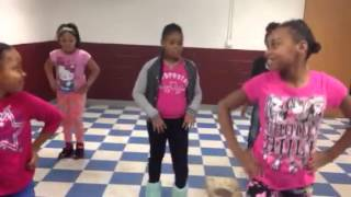 Kids dancing to the BBE challenge