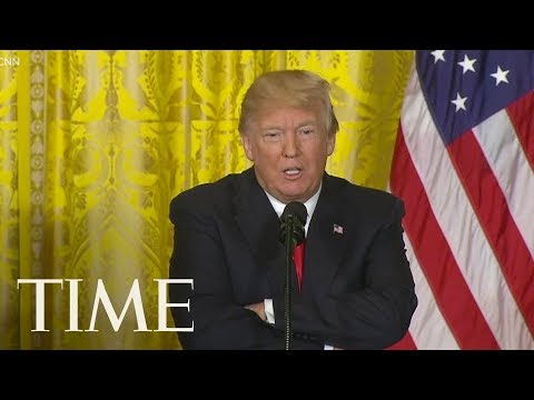 President Donald Trump Says It 'Seems Unlikely' He'll Give An Interview To Robert Mueller | TIME