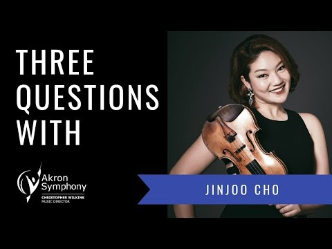 3 Questions With Violinist Jinjoo Cho