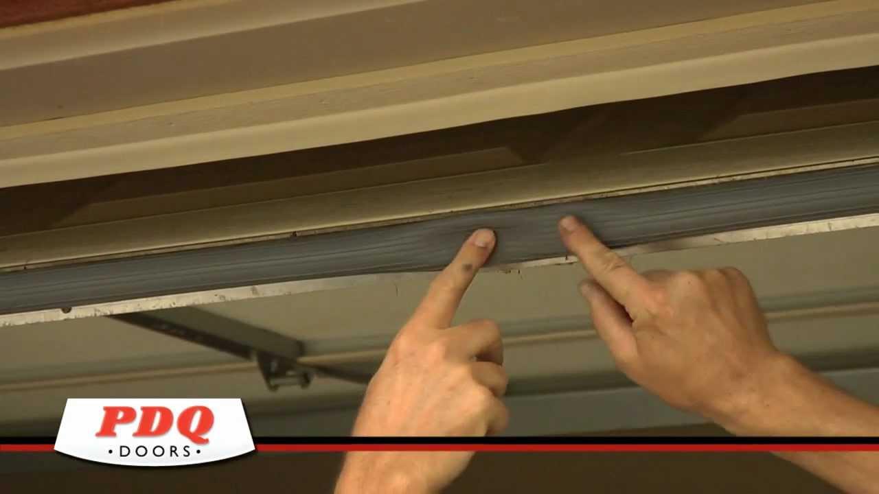 Garage Door Not Sealing Garage Door Weather Seal options